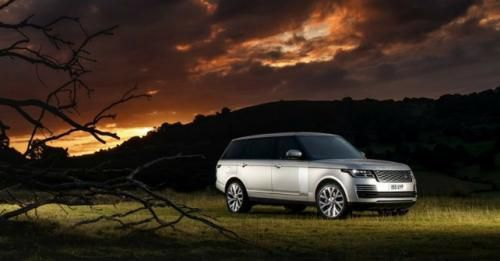 2018 Range Rover Front