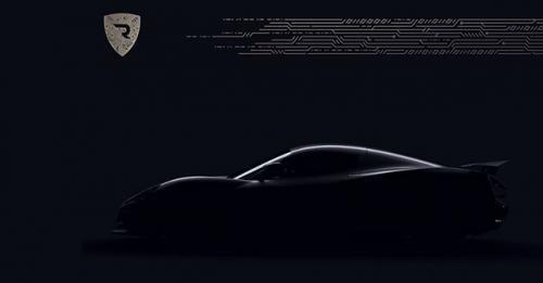 2018 Rimac Electric Hypercar Teaser Image