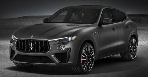 2019 Maserati Levante Trofeo Most Powerful Production Front