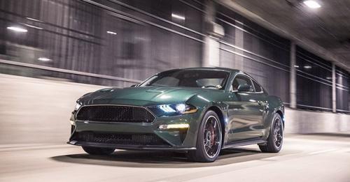 2019 Mustang Bullitt Front