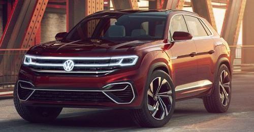 2019 Volkswagen Atlas Sport Cross Concept Front