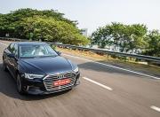 2019 audi a6 sedan review action front three quarter g