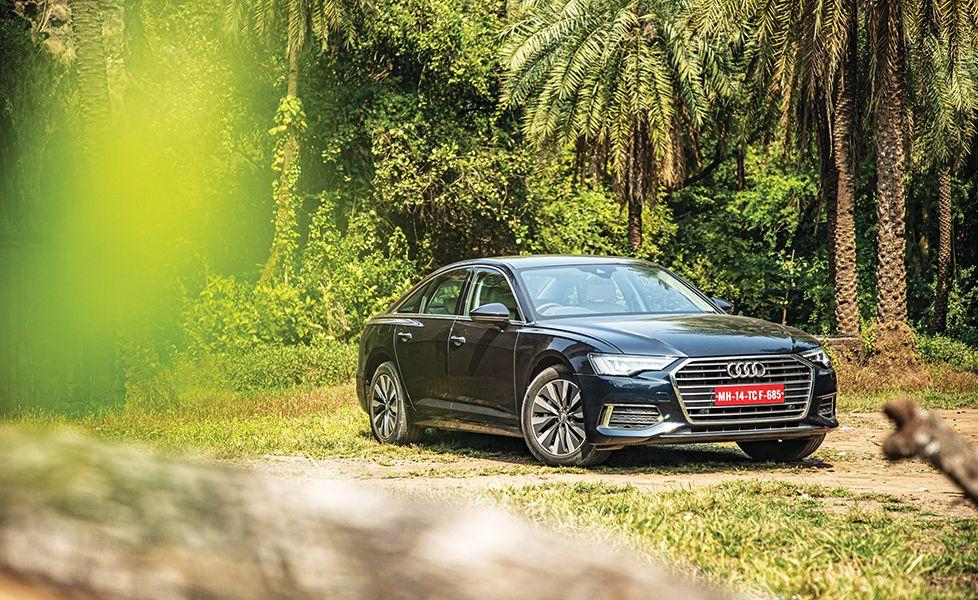 2019 audi a6 sedan review static front three quarter g