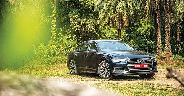 2019 Audi A6 Sedan Static Front Three Quarter