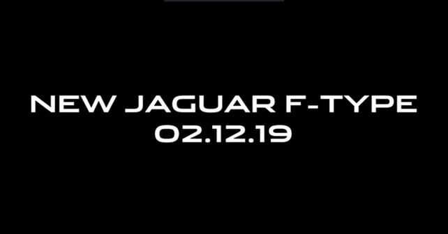 2020 Jaguar F Type Teaser