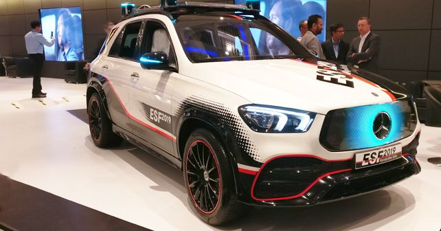 SAFE ROADS India Summit 2019: Mercedes-Benz ESF 2019 showcased