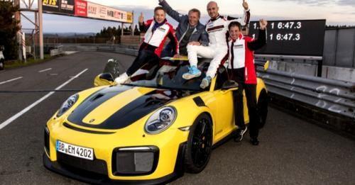 911 Gt2 Rs Nurburgring Record