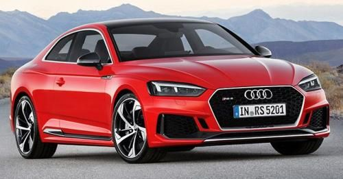 Audi RS5 Coupe Front Static