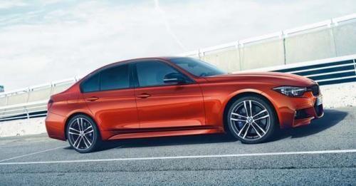 BMW 3 Series Shadow Edition Side Angle