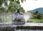 BMW R 1250 GS Pro in water