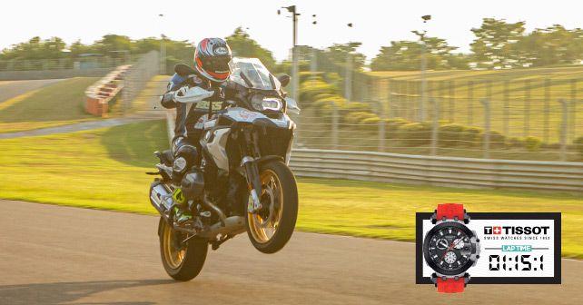 BMW R 1250 GS Track Test