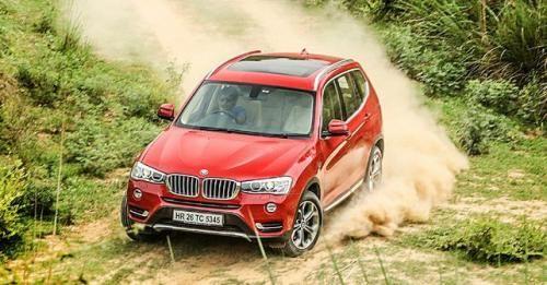 BMW X3 Action