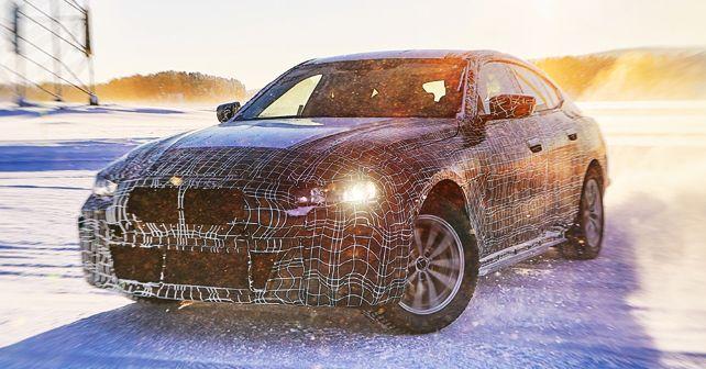 2022 BMW I4 Prototype