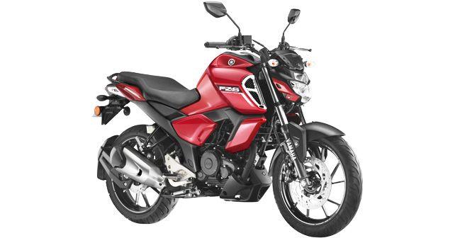 Yamaha FZS FI BSVI in new Metallic Red