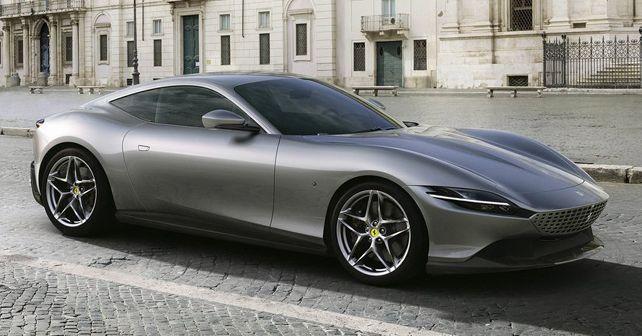 Ferrari Roma Front Quarter View