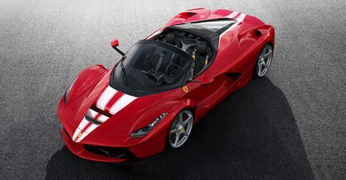 Ferrari AFerrari Aperta Save The Children Charity Auction Car Front