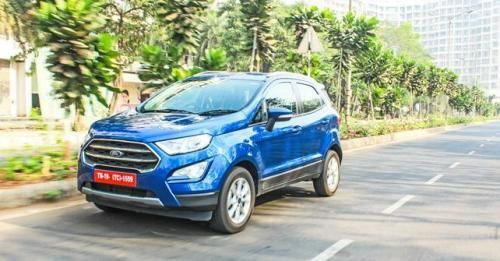 Ford EcoSport Front Three Quarter 21