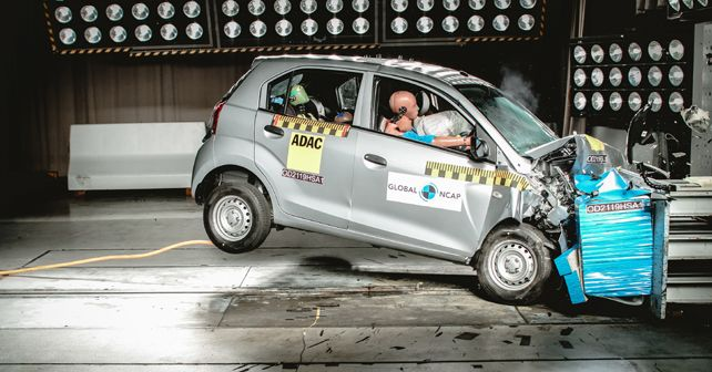Hyundai Santro scores 2-star Global NCAP safety rating