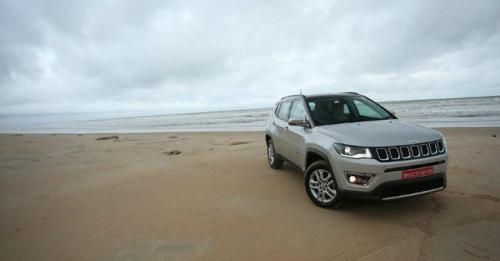 Jeep Compass Revieew Front Three Quarter M