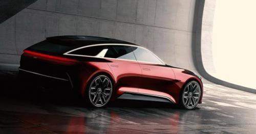 Kia Stinger Sportwagen Concept