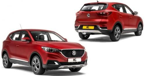 MG Motor ZS SUV India M