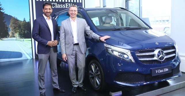 Mercedes Benz V Class Elite Launched at Rs 1.1 crore