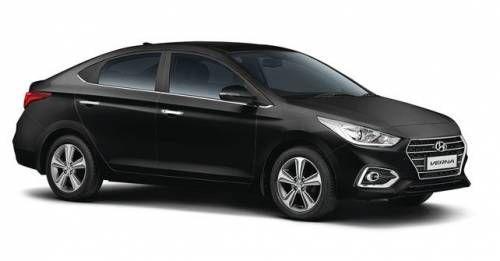 New Hyundai Verna Variants