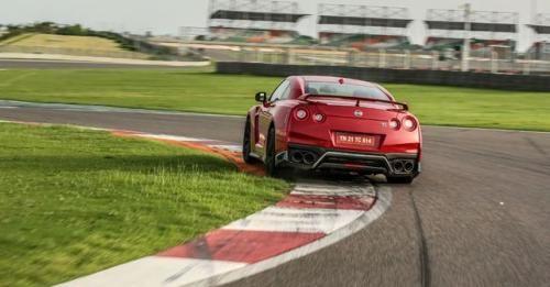 Nissan GTR Track Test Rear Angle Shot1