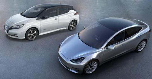 Nissan And Tesla