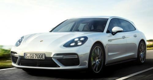 Porsche Panamera Ehybrid Front