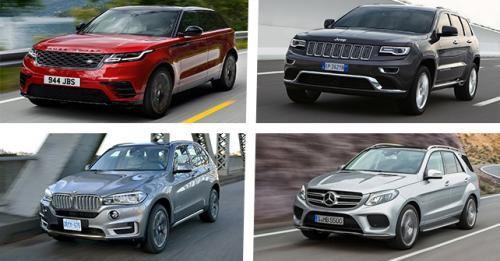 Range Rover Velar Spec Comparison