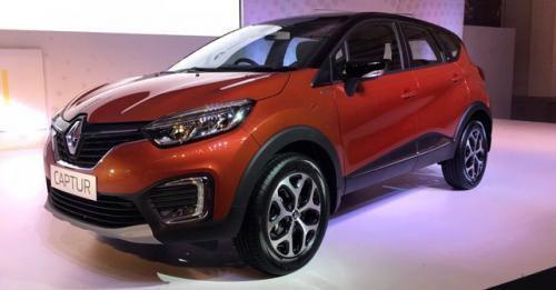 Renault Captur India Spec