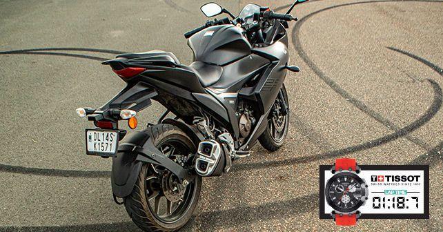 Suzuki Gixxer SF 250 Track Test