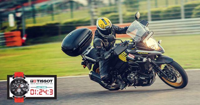 Suzuki V Strom 650 XT Track Test