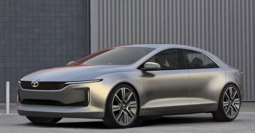 Tata EVision Electric Sedan Concept