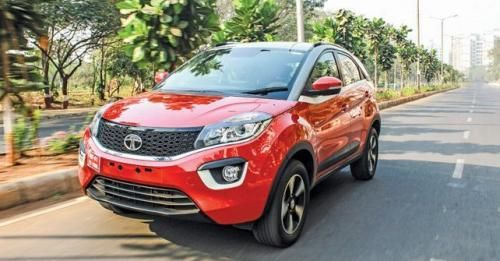 Tata Nexon Front Three Quarter21