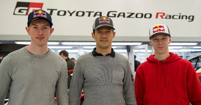 Toyota Gazoo Racing announces 2020 WRC driver line-up
