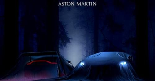 Aston Martin Vantage 2018 Teaser