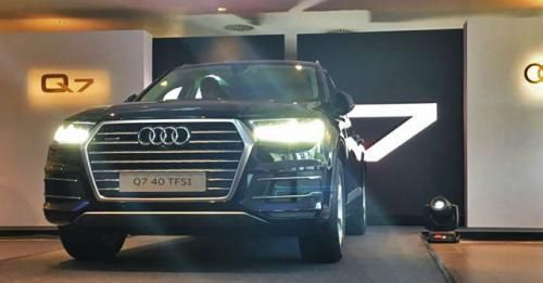Audi Q7 Petrol India Launch