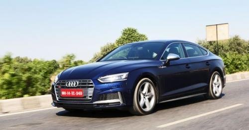 Audi S5 Sportback Side View