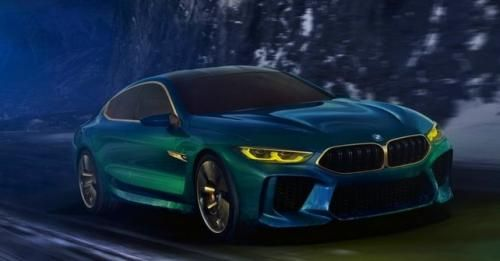 Concept M8 Gran Coupe Front