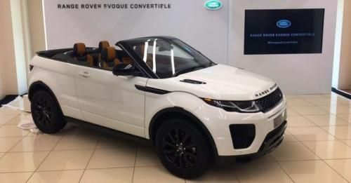 Evoque Convertible Launched