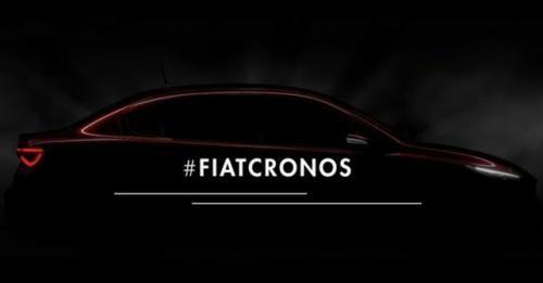 Fiat Cronos Teased