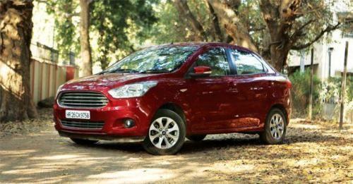 Ford Figo Aspire Rear View