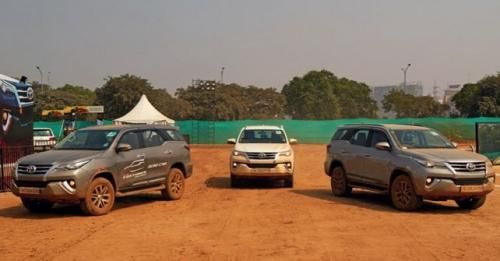 Fortuner Off Road Camp