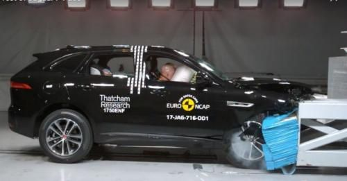 Jaguar F Pace Euro Ncap Crash M