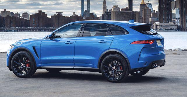 Jaguar F-PACE SVR listed on India website
