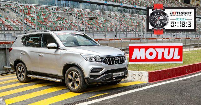 Mahindra Alturas Track Test
