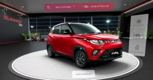 Mahindra Vr Showroom 1