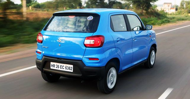 Maruti Suzuki S Presso Rear Three Quarter Dynamic